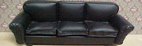 Leather Living Room Sets: Decorating with a Black Leather Couch