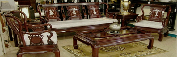 Create an Asian-Inspired Space with Traditional Living Room Furniture